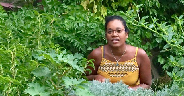 Karine et la ferme en permaculture de La Source dorée